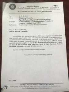 Conflict între angajați și conducere la APM Argeș. Cristiana Surdu, acuzată că nu a mărit salariile conform unei hotărâri judecătorești definitive 3