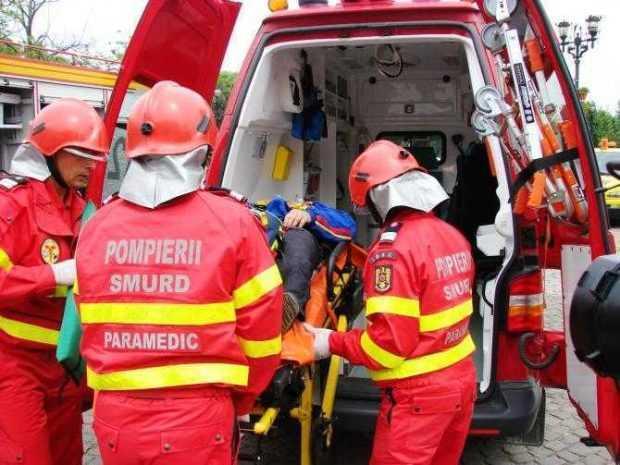 Bărbat preluat de SMURD după un accident produs la Albota 5