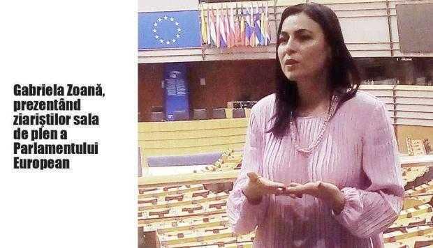 Zoană a invitat un nou grup de ziarişti la Parlamentul European. Să le vadă la lucru pe ea şi pe Dăncilă... 4