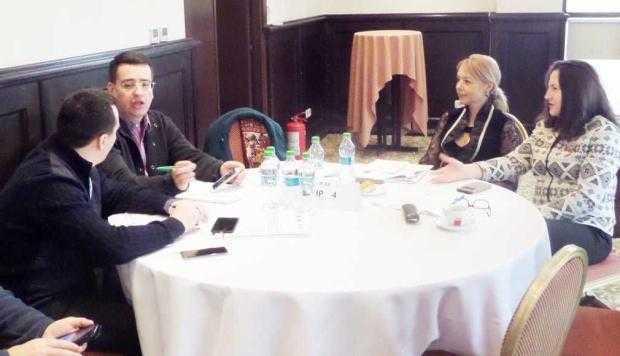 Ziua în care magistraţii au stat la aceeaşi masă cu jurnaliştii 5