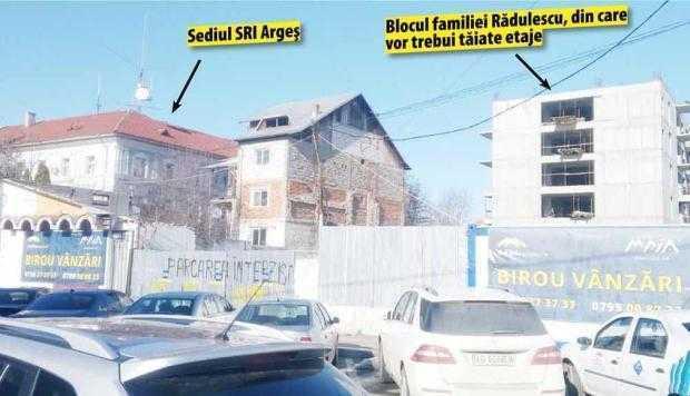 Bombă! Fraţii Rădulescu trebuie să mai taie din etajele blocurilor de lângă sediul SRI 5