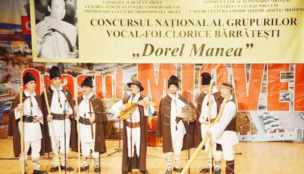 Naistul Dorel Manea, fostul şef al Orchestrei Doina Argeşului 6
