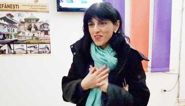 Maria Dorobanțu a înlocuit-o pe Lavinia Năstase la Centrul Cultural Ștefănești 5