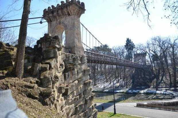 presshub.ro: Reparații, la propriu și la figurat, în cel mai mare parc natural din estul Europei. Podul Suspendat din Parcul Romanescu, Craiova, va fi în sfârșit reabilitat 5