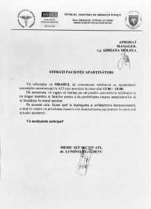 SJU Pitești a stabilit un orar de convorbiri telefonice pentru rudele celor internați la ATI 6