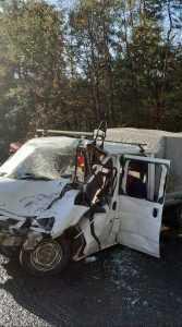Accident cu multiple victime la Cotmeana, între un autocar și o autoutilitară 8