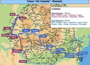 Via Carpatica - autostrada care va lega Constanța (România) de Gdansk (Polonia) va trece prin Pitești 4