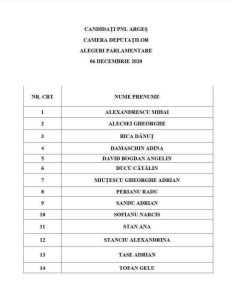 Candidații PNL Argeș pentru alegerile parlamentare 7