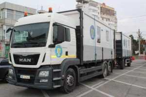 Containere modulare pentru triajul pacienților- instalate la Spitalul Județean și la Pediatrie 5