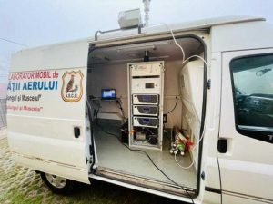 Laborator mobila calitatea aerului 1