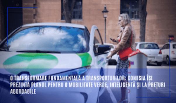 mobilitate. transformarea fundamentala a transporturilor in UE