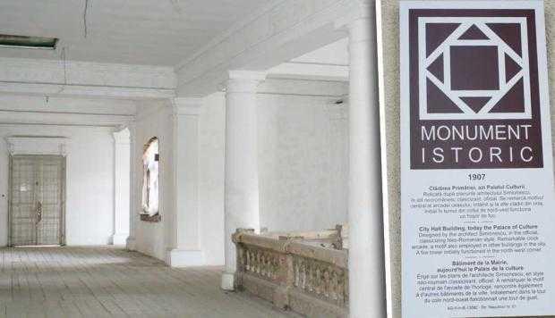 Imobil de patrimoniu reprezentativ pentru Muscel, distrus de interese şi indolenţă / Dezastrul de la Casa de Cultură Câmpulung, marcat şi la Tribunal 2