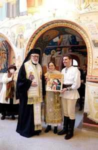 Prințul Nicolae al României și-a botezat fetița la Catedrala Arhiepiscopală din Curtea de Argeș 5
