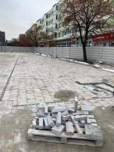 Piața Primăriei Pitești, reabilitată cu granit din India și China, va fi gata pe 20 februarie 7