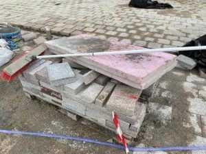 Piața Primăriei Pitești, reabilitată cu granit din India și China, va fi gata pe 20 februarie 9