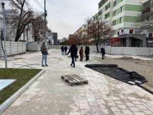 Piața Primăriei Pitești, reabilitată cu granit din India și China, va fi gata pe 20 februarie 6
