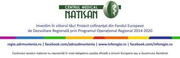Anunț de presă privind finalizarea proiectului ,,Diversificarea și extinderea serviciilor medicale ale clinicii NATISAN'' 4