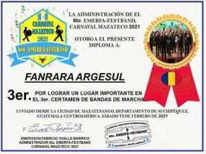 Fanfara Argeșul a obținut locul trei la carnavalul Mazateco din Guatemala 5