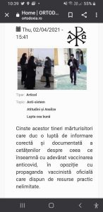 """Broșuri anti vaccin distribuite și în Pitești de către """"mărturisitori"""" 4"""