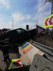 Persoană rănită în urma accidentului din Bascov 3