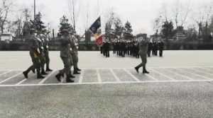 """Fanfara """"Argeșul"""" a cântat cu instrumente împrumutate la festivitatea de absolvire a ofițerilor Școlii de Instruire a Forțelor Terestre 5"""