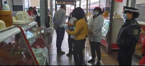 Poliția Locală a efectuat verificări în piețele din Pitești. S-au dat 9 avertismente 3
