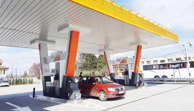 O nouă staţie de carburanţi în Argeş: Rompetrol Partener Mărăcineni 8