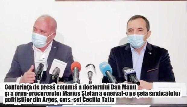 """""""E deja alianţa făcută între procuror şi dr. Manu, şeful Medicinei Legale"""" 6"""
