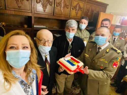 Doi veterani de război, sărbătoriți la împlinirea vârstei de 100 de ani 5