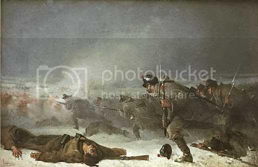 Pictura de N.Grigorescu – Atacul de la Smardan