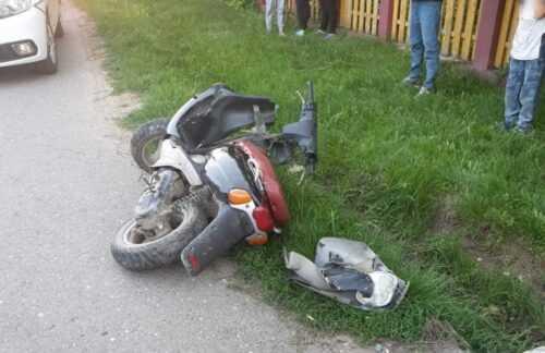 Bălilești: Accident între un scuter condus de un minor și un autoturism 5