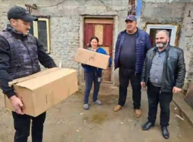 Acțiune de suflet în sudul județului organizată de deputatul PSD Aurel Bălășoiu 5