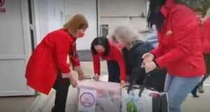 Femeile Social Democrate - donații pentru pacienții din spitale, în Joia Mare 5