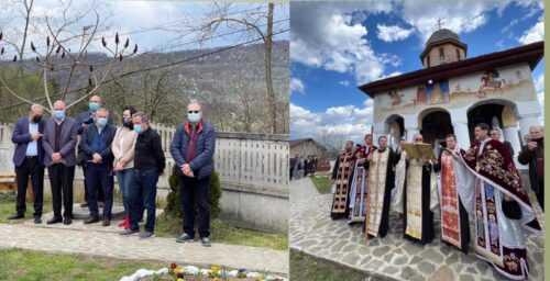 Simona Bucura Oprescu, prezentă la redeschiderea după 15 ani a Bisericii Vechi din Rădești 4