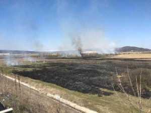Incendii la Valea Danului și Colibași 2