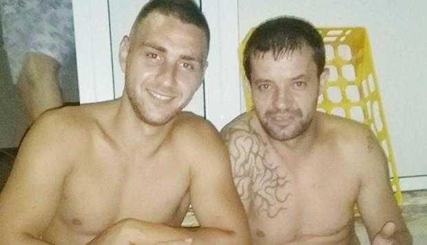 Soţul poliţistei, Leonard Nicula, şi unul dintre inculpaţi - Ene Florin Viorel