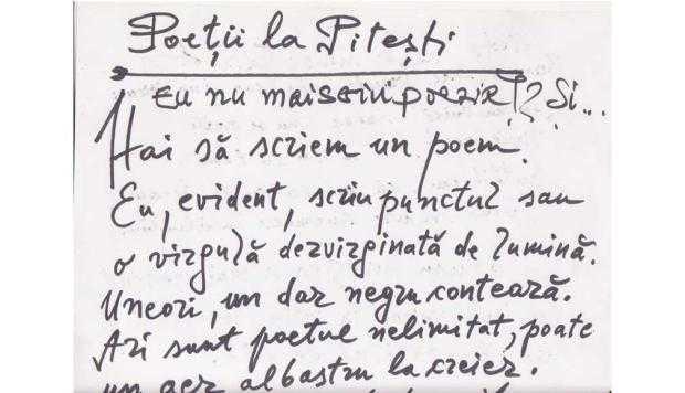 Un poem cu 7 autori, scris într-o cârciumă din Piteşti 6