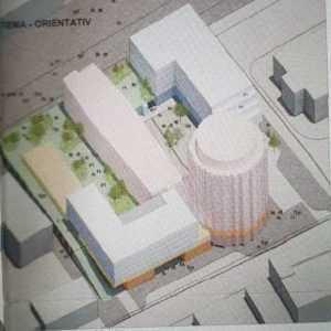 Benny Păcănele a depus la Primăria Pitesti un proiect pentru 2 blocuri lângă hotel Muntenia 2