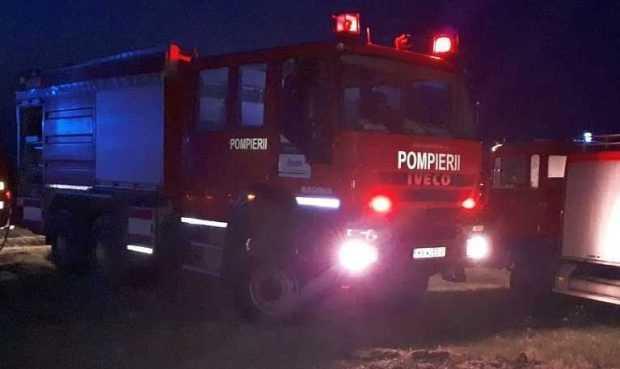 Pericol de incendiu în această dimineață, la secția de Covid-19 a Spitalului Județean Pitești 5