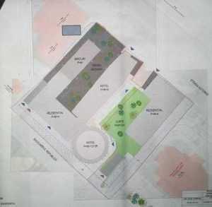 Benny Păcănele a depus la Primăria Pitesti un proiect pentru 2 blocuri lângă hotel Muntenia 3