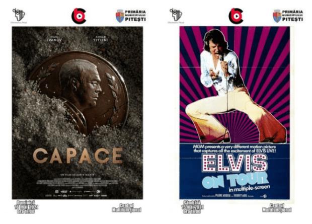 """""""Capace"""" și """"Elvis în turneu"""" - filmele săptămânii, la Cinematograful """"București"""" 5"""