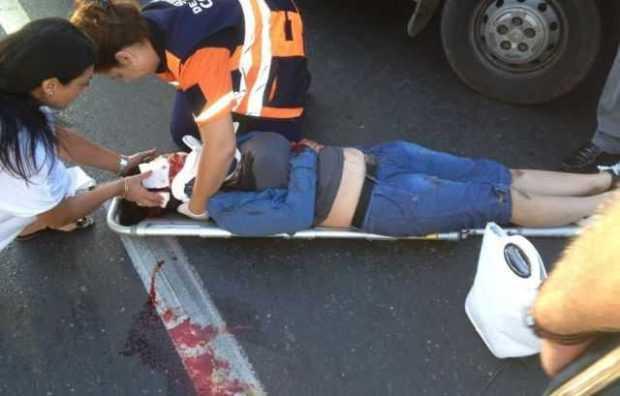 Femeie grav rănită în timp ce traversa prin loc nepermis 5