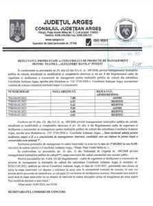 """Rezultatele concursului de management de la """"Davila"""". Cine sunt cei doi candidați admiși pentru proba interviului 6"""