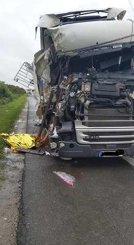 Accident mortal pe autostrada București-Pitești! Traficul este restricționat 5