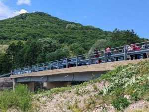 Teren de minifotbal și pod nou, la Mușătești 7