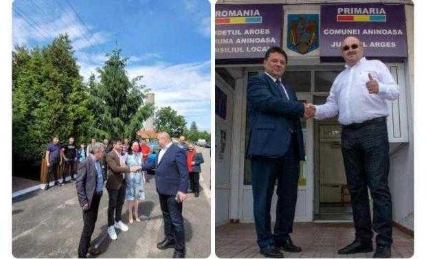 Ion Mînzînă susține candidații pentru funcția de primar la Rociu și Aninoasa 1