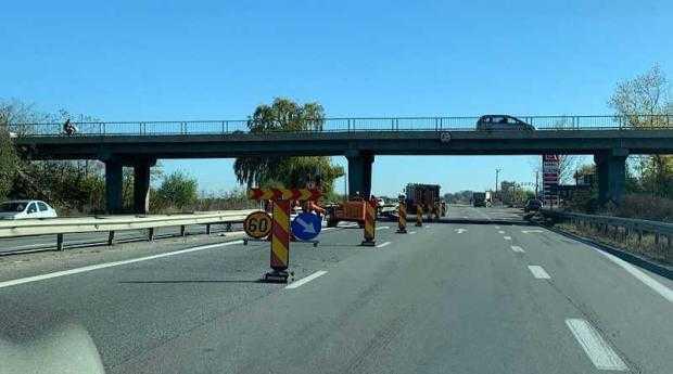 Traficul este restricționat pe A1 București – Pitești! Se efectuează lucrări de reparație la un pod 5