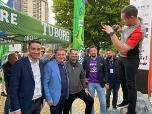 Raliul Argeșului: Președintele Federatiei Române de Automobilism Sportiv, Norris Măgeanu, a venit îmbrăcat în tricoul echipei FC Argeș 6