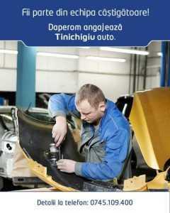 (P) Fii parte din echipa câștigătoare! DAPEROM angajează tinichigiu auto 4