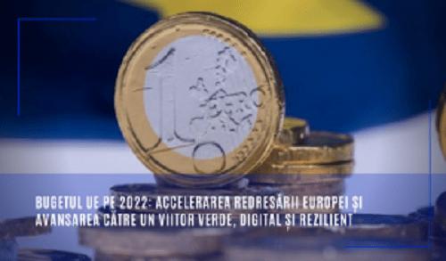 Bugetul UE pe 2022 în valoare de 167,8 miliarde EUR 5